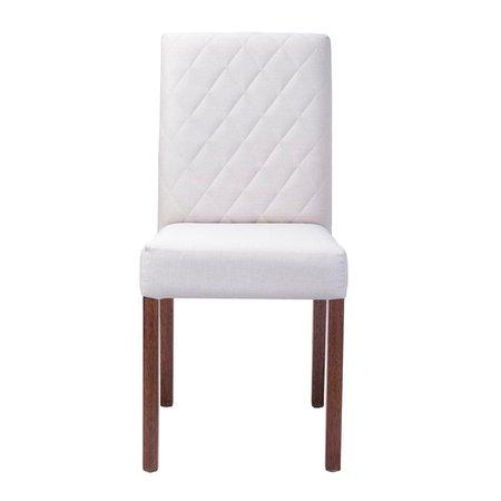 Cadeira de Jantar Estofada Beliz - Wood Prime 33289