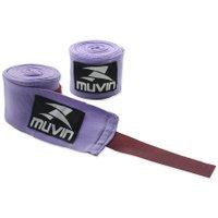 Bandagem Elástica 3m Muvin BDG-300 - Roxo