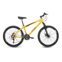 Bicicleta Mazza Bikes Fire - Aro 26 Disco - Shimano 21 Marchas - 21 - Amarelo