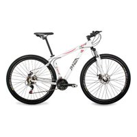Bicicleta Mazza Bikes Ninne - Aro 29 Disco - Shimano 21 Marchas - 19 - Branco