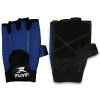 Luva de Musculação L100 Muvin LVA-200 - Azul - M