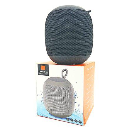 Caixa de Som Portátil Bluetooth 4.2 3W Entrada USB SD Auxiliar P2 Rádio Função Atende Telefone Preta
