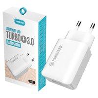 Carregador de Parede Turbo USB 3.0A para Carregamento Rápido T108 Bivolt Kimaster