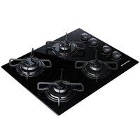 Cooktop Brastemp 4 Bocas Acendimento Automático e Discos Esmaltados BDD61AE
