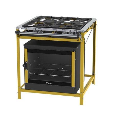 Fogao Industrial Ffi 430-2 Classic amarelo Gás Glp