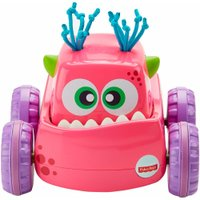 Caminhão Monstro Fisher Price Rosa - Mattel