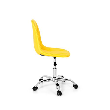 Cadeira Office Eiffel Botonê Base Giratória - Amarela