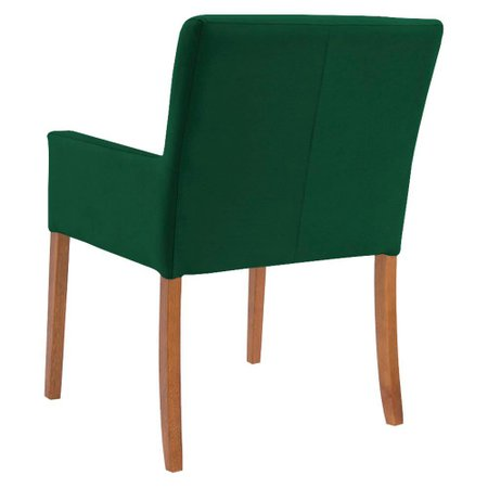 Mesa de Jogos Carteado Redonda Victoria Tampo Reversível Preto com 2 Cadeiras Vicenza Verde - Gran Belo