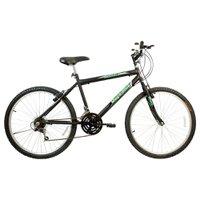 Bicicleta Aro 26 Freios V-Break Quadro Aço 21v Thunder Sport Preto - Mega Bike