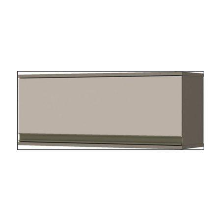Armario Henn Basculante 1 Porta 80cm C54 35 - Duna/Cristal