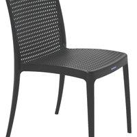 Cadeira Tramontina Isabelle em Polipropileno e Fibra de Vidro Preto Tramontina