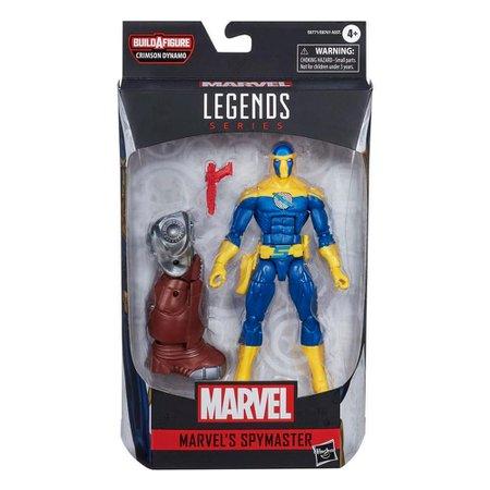Boneco Espião Mestre Viúva Negra Marvel Legends - Hasbro