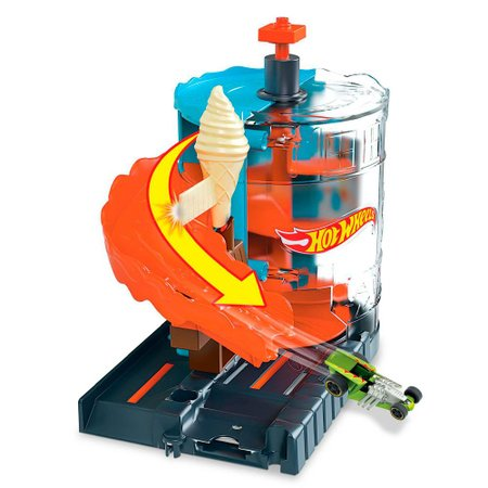 Conjunto Pista Hot Wheels Loja de Sorvete - Mattel