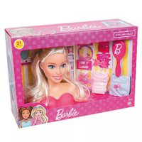 Busto da Barbie Hair Styling com Acessórios - Pupee