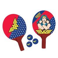 Par de raquetes de ping-pong Mulher Maravilha - Bel Sports