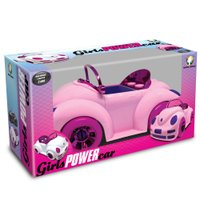 Fusca Rosa Conversível Girls Power Car - Monte Líbano