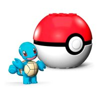 Pokémon Mega Construx Pokebola Squirtle - Mattel