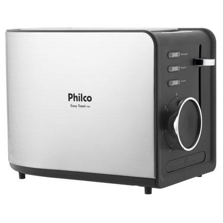 Torradeira Philco Easy Toast Preta R2 850W