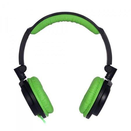 Fone de Ouvido Headphone Dobrável One For All Full Bass Verde SV5613