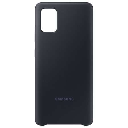 Capa Protetora De Silicone Galaxy A51 Original Samsung Preta