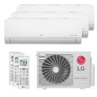 Ar-Condicionado Multi Split Tri Split Inverter LG 30000 BTUs (2X9000+1X12000) Q/F 220V