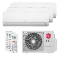 Ar-Condicionado Multi Split Tri Split Inverter LG 30000 BTUs (2X9000+1X18000) Q/F 220V