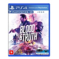 Jogo Blood & Truth - PS4 VR