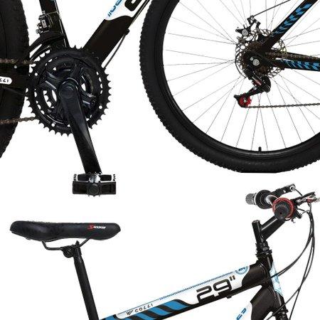 Bicicleta Esportiva Aro 29 Freio a Disco Sparta Quadro 19 Aço Preto - Colli Bike