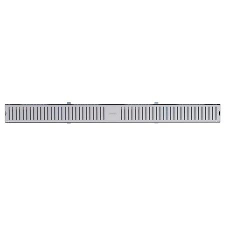 Ralo Slim Tramontina em Aço Inox 100 x 7 cm