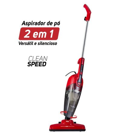 Aspirador De Pó Vertical Wap 2 Em 1 1000W Clean Speed