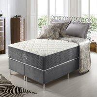 Conjunto Cama Box Queen Size Anjos Fort Flex 158x198cm Pillow In