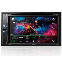 DVD Player Automotivo Pioneer AVH-G218BT Tela 6,2 DVD USB Bluetooth e AUX