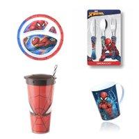 Conjunto Homem Aranha Spiderman refeicao 3 - Oficial