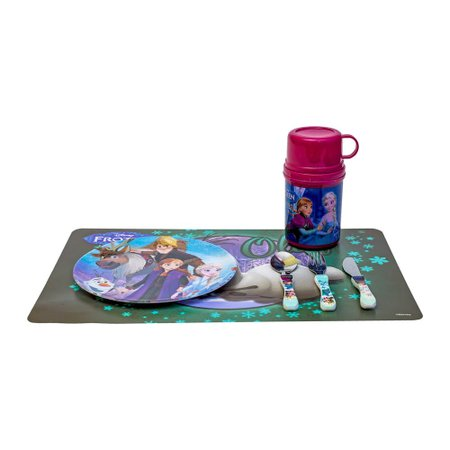 Kit lanche original Frozen Disney 4 itens