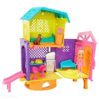 Polly Pocket Club House Espaços Secretos da Polly - Mattel
