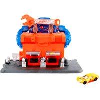 Hot Wheels Pista Ataque de Gorila na Garagem - Mattel