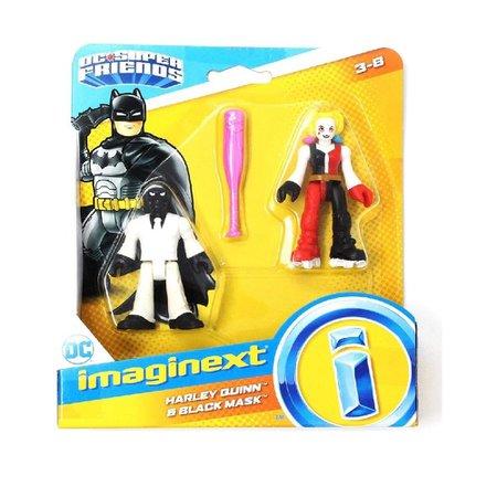 Imaginext DC Super Friends Harly Quinn e Black Mask - Mattel