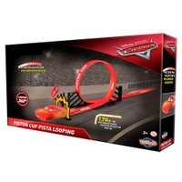 Pista McQueen Piston Cup Looping Carros - Toyng