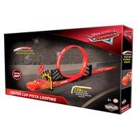 Pista McQueen Piston Cup Looping Carros - Toyng