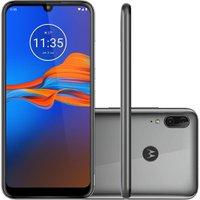 Smartphone Motorola Moto E6 Plus 32GB Dual Chip Tela 6.1` 4G Câmera 13MP+2MP - Prata