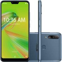Smartphone Asus Zenfone Max Shot 64GB Tela 6.2` Câmera tripla 12MP+5MP+8MP - Azul