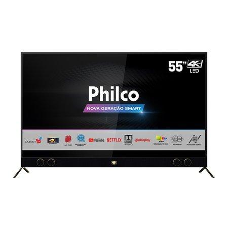 "Smart TV Philco 55"" PTV55G60SN 4K SB LED - Netflix"