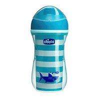 Copo de Treinamento Chicco Active Cup Azul 14m+