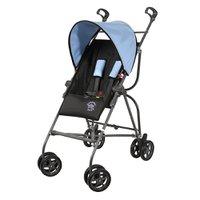 Carrinho de Bebê Galzerano Capri Preto e Azul 1006PTA (6 Meses a 15kg)