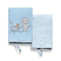 Kit 2 Babinhas Hug Lembrança de Infância Azul - E14801A
