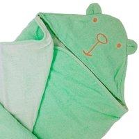 Toalha de Banho Ursinho Hug Verde - A2055