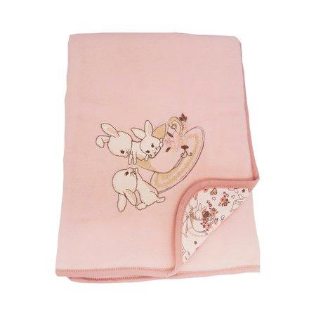 Manta de Soft Hug Hora do Chá Rosa E13812