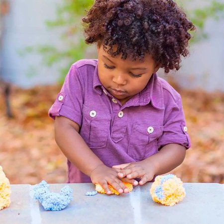 Massinha de Modelar Foam Playfoam Sparkle 4 cores - Toyng