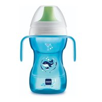 Copo Fun to Drink Boys 270 Ml Baleia Azul - Mam Baby