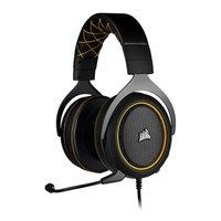 Headset Gamer Corsair HS60 Pro Surround 7.1 Preto/Amarelo, CA-9011214-NA